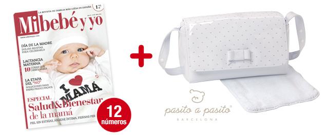 12 números Mi bebé y yo <br>+ Bolsa de paseo<br> de PASITO A PASITO