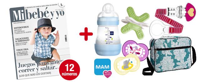 12 números Mi bebé y yo <br>+ Súper pack Happy summer: <br>6 REGALOS para tu bebé